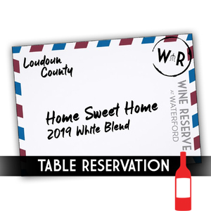 Table Reservation - Bottle Home Sweet Home